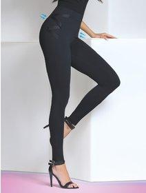 Colanti eleganti cu talie inalta modelatoare Bas Bleu Lindsey 200 den
