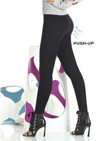 Colanti vascoza cu push-up Bas Bleu Octavia 200 den
