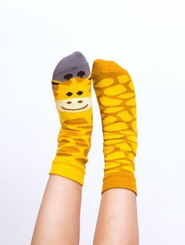 Sosete copii cu model Nanushki Gigi Giraffe Kids