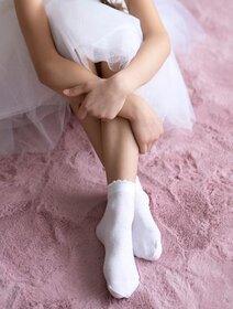 Sosete fete lycra cu picatele gri metalizate Knittex Kelly 40 den