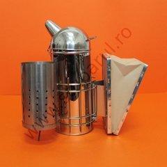 Afumator inox model american profesional cu cilindru