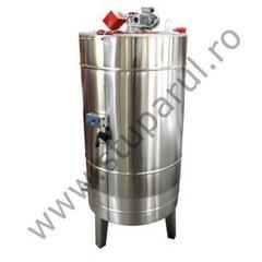 Bazin omogenizare miere lichida 2000 l cu agitator si incalzire Lyson