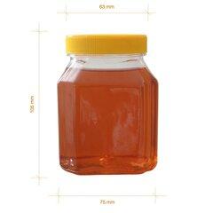 Borcan miere plastic alimentar octogonal 500g