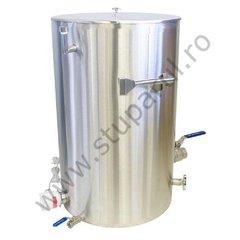 Decristalizator miere cu pereti dubli cu apa, 200 kg miere, Lyson