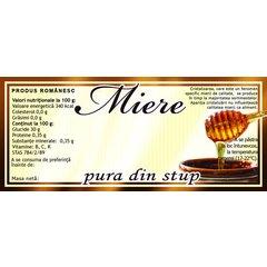 Etichete miere pura din stup 100 buc