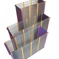 Izolator matca 3 rame 1/1 cu gratie hanneman metalica