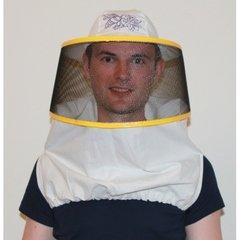 Masca apicola cu bust si plasa rotunda A-MARINO