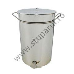 Maturator inox canea inox 100kg miere 70 litri cu manere  Lyson