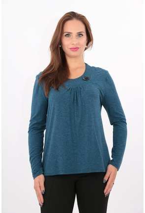 Bluza albastra din tricot