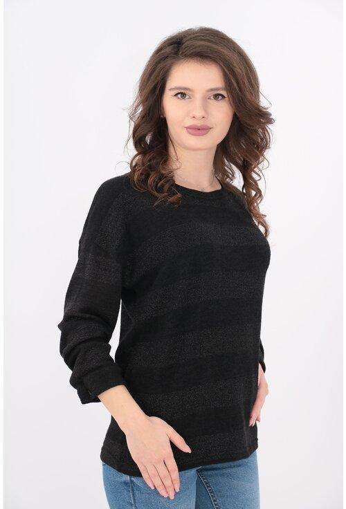 Bluza antracit tricotata