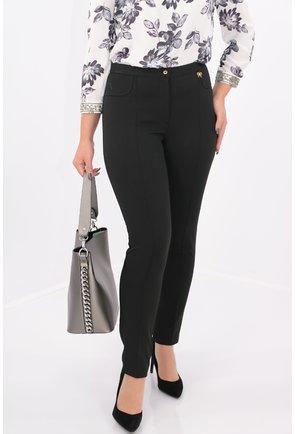 Pantaloni office din stofa elastica