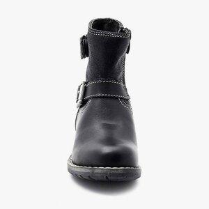Cizme din piele naturala pentru copii – 112 negru