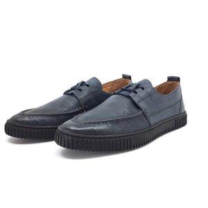 Pantofi casual barbati din piele naturala, Leofex - Mostra Adam blue box