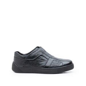 Pantofi casual barbati din piele naturala, Leofex - Mostra Ilie Negru Box