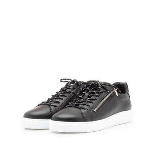 Pantofi sport barbati din piele naturala, Leofex - 801-2 Negru Box